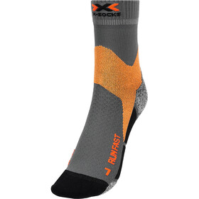 X-Socks Run Fast Strømper, grå/orange